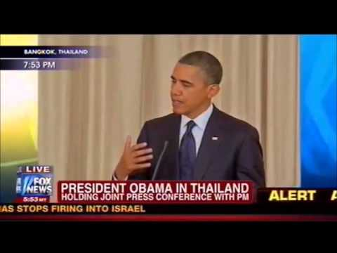 Obama on Israel's deadly assault into Gaza