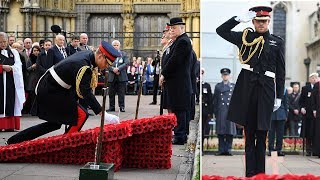 Prince Harry news | The Duke of Sussex visit to Field of Remembrance at Westminster Abbey