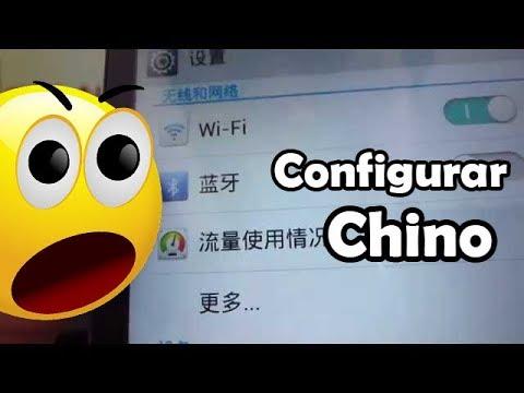 como Configurar el idioma teléfono android chino Huawei Ascend G610 G526 G510 comoconfigurar