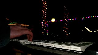 Piano Controlled Christmas Lights Demo