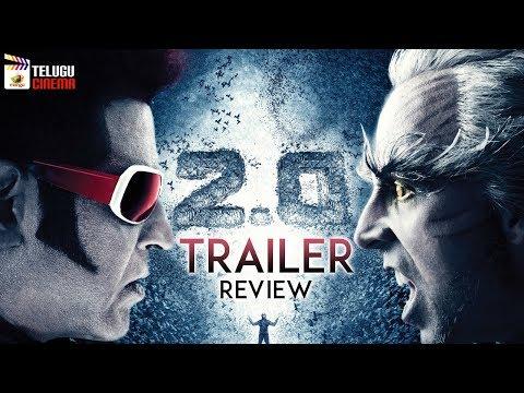 Robo 2.0 TRAILER review | Rajinikanth | Akshay Kumar | A R Rahman | Shankar | #2Point0Trailer