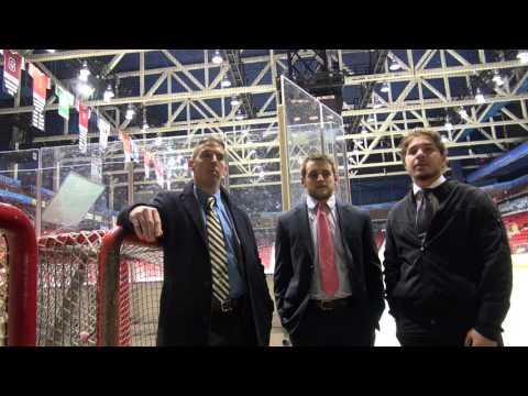 Men's Hockey Highlights/Post-game v. Skidmore 10-30-15