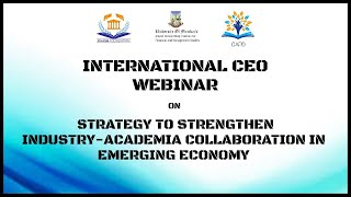Kaash Foundation 7th International CEO Webinar. Campus to Corporate.