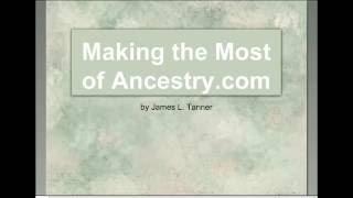 Using the Ancestry.com Card Catalog