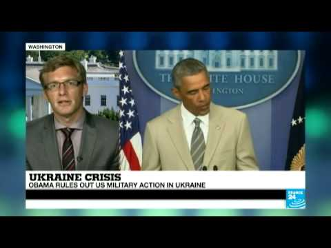 Barack Obama blames Russia for increasing violence in Ukraine