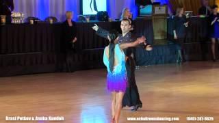 Krasi Petkov and Asuka Kondoh - Professional Latin American Dancing