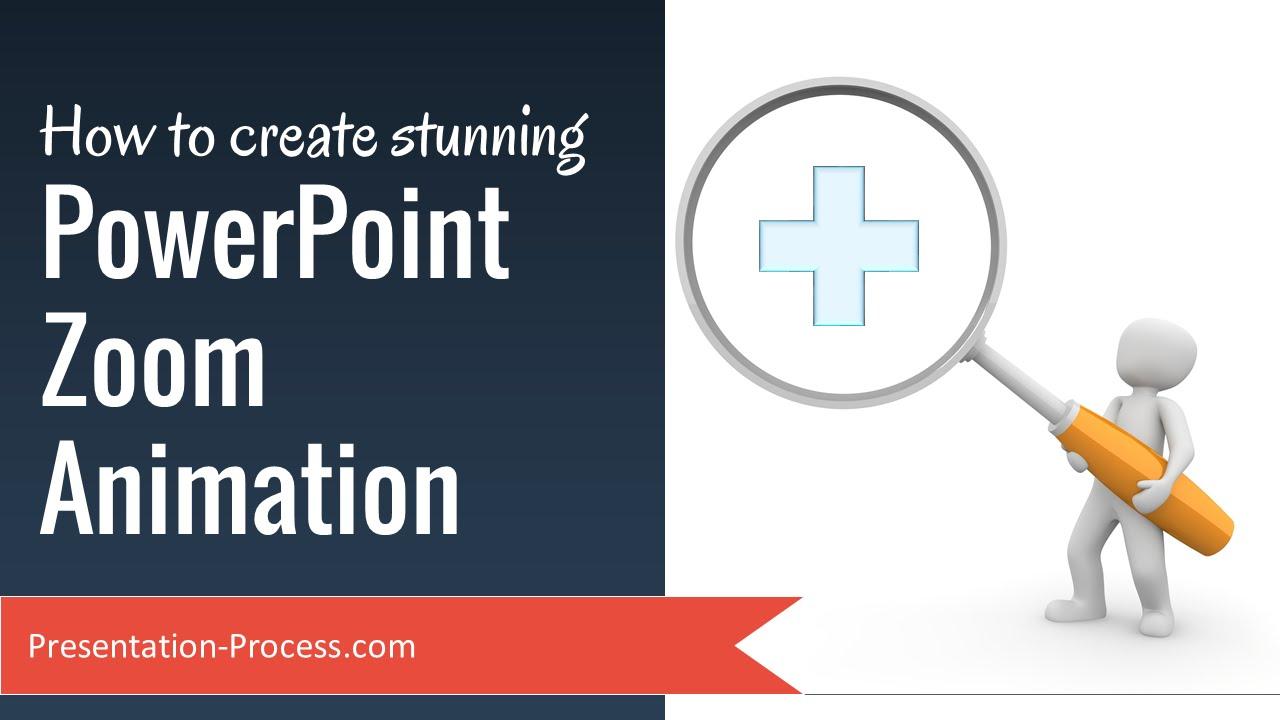 Как сделать зум в powerpoint
