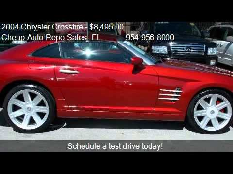 2004 Chrysler Crossfire Coupe for sale in Pompano Beach, FL