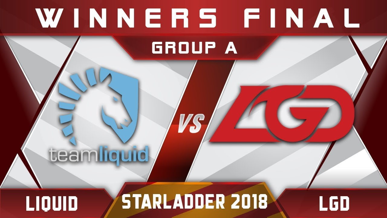 Liquid vs LGD Winners Final Starladder i-League 2018 Highlights Dota 2