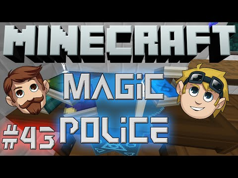 Minecraft Magic Police #43 - Dig Dig Chop Chop (yogscast Complete Mod Pack) video