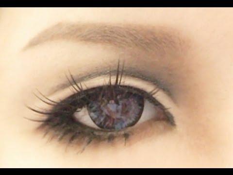 Anime Eyes Makeup Cosplay Tutorial Anime Eye Makeup 3