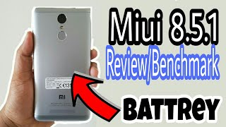 Miui 8.5.1.0 Review   BenchMark on  Redmi Note 3 