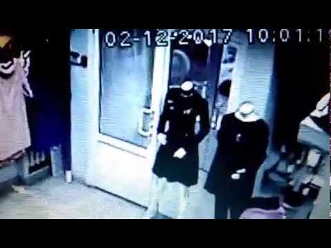 Ограбление магазина одежды в Кирове