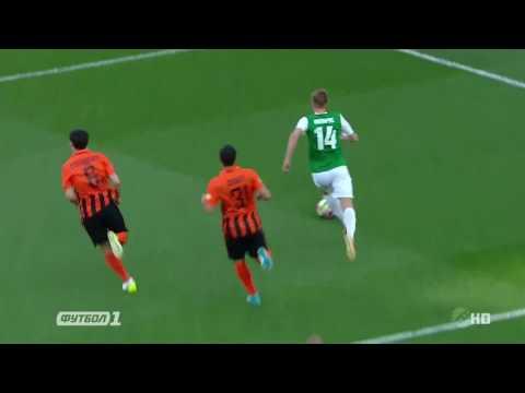 Шахтёр  — Александрия. Обзор матча. 1:0. 30.04.2017.