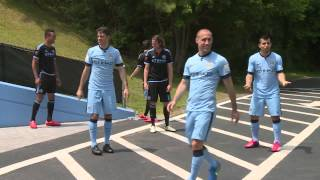 TAXI CHALLENGE Team Aguero v Team Villa New York Challenge 4