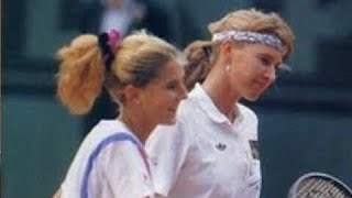 Monica Seles vs Steffi Graf 1990 Roland Garros Final Highlights