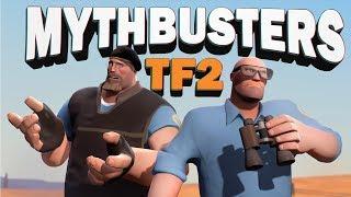 TF2 Mythbusters: Burning arrow UNDERWATER?!