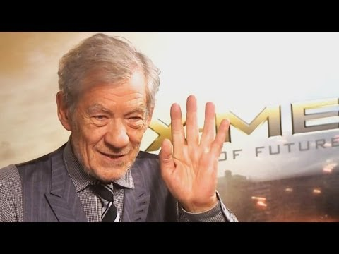 Sir Ian McKellen talks X-Men, his love of show tunes, and advice for his younger self