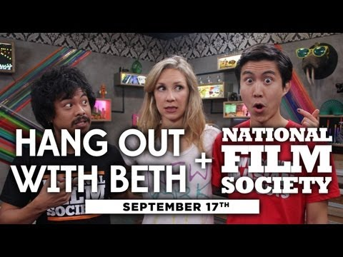 Hang Out with National Film Society + Beth LIVE! – 9/17/12 (Full Ep)