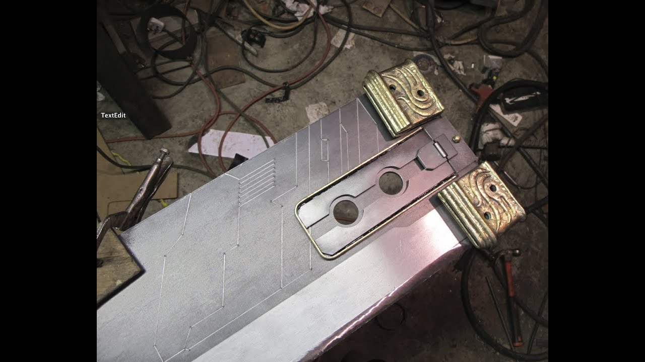 Real Buster Sword How a Buster Sword is Built