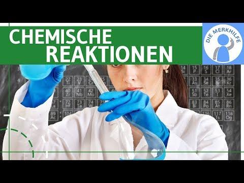 Chemische Reaktionen - Reaktionsgleichungen einfach erklärt & Beispiele, Grundtypen - AnorgaChemie