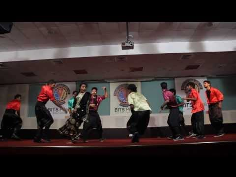 Bits Pilani Ethnic Day'13 -lungi Dance & Top Lesi Pod video