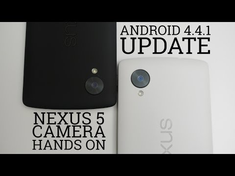 Android 4.4.1 Update - Nexus 5 Camera Hands On