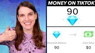 Explaining Earning Money on TikTok: Coins and Diamonds to Dollars!