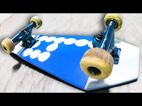 MINI RECYCLED COFFIN BOARD?! YOU MAKE IT WE SKATE IT