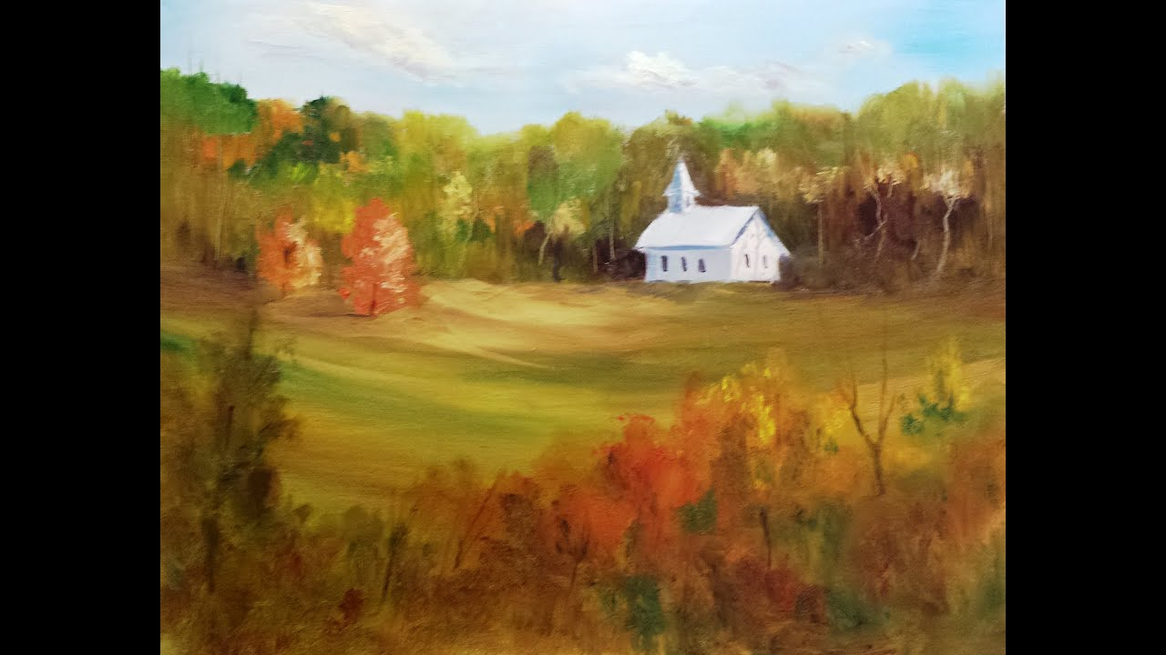 Paint along with larry hamilton november 20 2013 oil for Watercolor painting classes near me