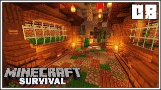 AUTOMATIC BAMBOO & SUGAR CANE FARMS!!! ► Episode 8 ►  Minecraft 1.14 Survival Let's Play
