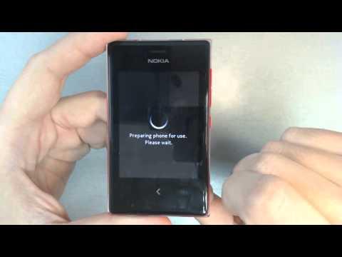 Nokia Asha 503 - How to reset - Como restablecer datos de fabrica