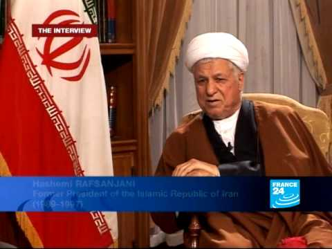 FRANCE 24 The Interview - Interview with H.Rafsanjani, Former iranian president