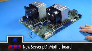 New Server Build: Pt1 Motherboard Setup and Testing