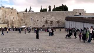 JERUSALEM   OLD CITY   A WALKING TRAVEL TOUR   HD 1080P