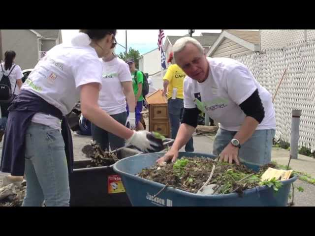 """A chance to give back"": The benefits of Corporate Volunteering"