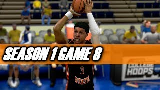 ITS RAINING - COLLEGE HOOPS 2K8 LEGACY OREGON STATE VS BAKERSFIELD (S1G8)