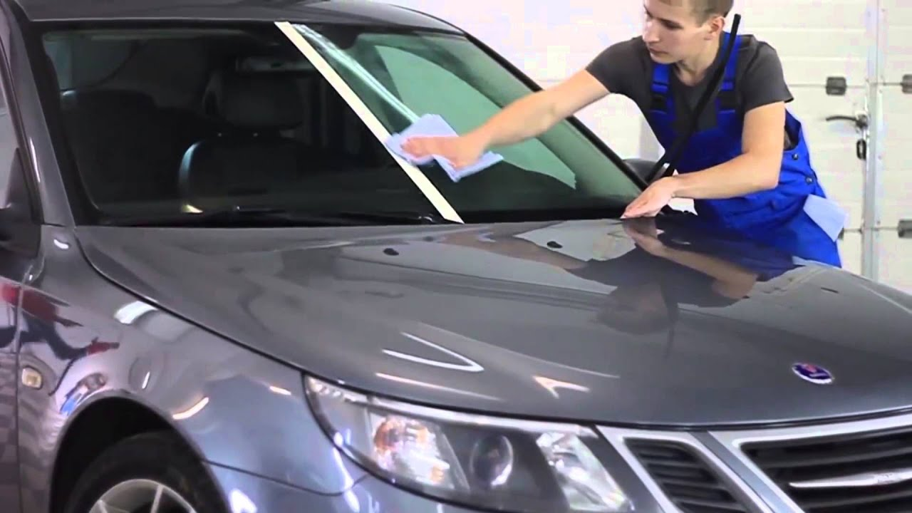 нано покрытие автомобиля видео