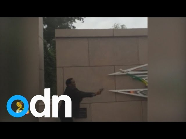 Shots fired near Ethiopian embassy in Washington DC