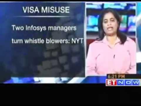 Visa misuse : 2 Infosys managers turn whistleblowers