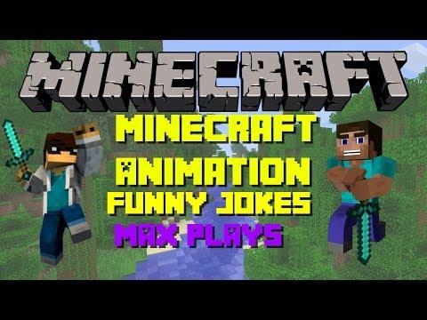 Minecraft Animation|funny Jokes!!! video