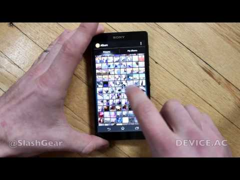 XPERIA ZL hands-on for review