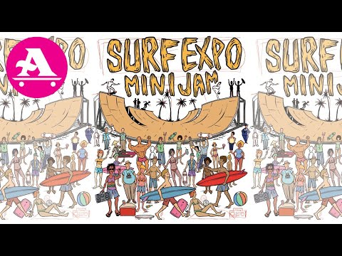 """ALL I NEED SKATE """"BEHIND THE SCENES OF SURF EXPO"""" 2020"""