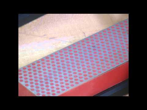 Sharpen Paring Knife with DMT Diamond Whetstone™