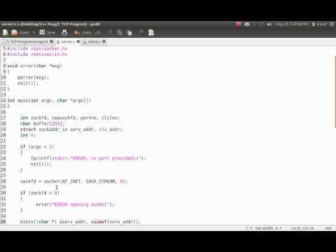 TCP/IP Programming in C