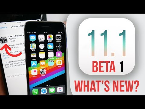 IOS 11.1 BETA 1 RELEASED! What's NEW? Changes & How to Install?