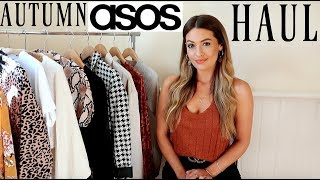 AUTUMN ASOS HAUL AND TRY ON - SEPTEMBER 2018