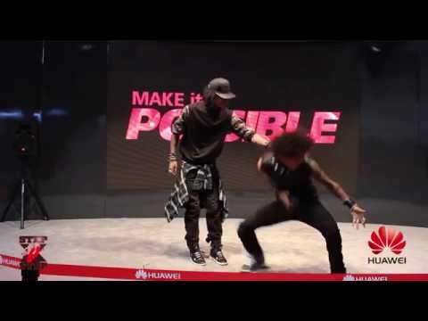 Les Twins Performance | Huawei Ces 2014 | #sxstv video