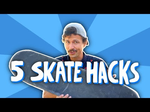 5 Skate Hacks To Learn Every Trick (Darkslides Too!)