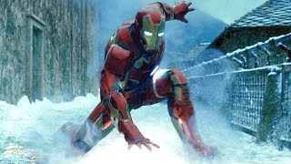Attack on the HYDRA Research Base - Avengers: Age of Ultron (2015) Movie CLIP HD